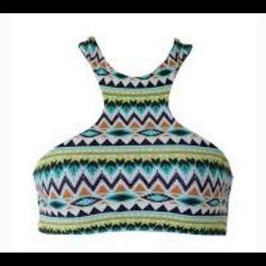 Issa de' mar Sola Tribal Bikini Top